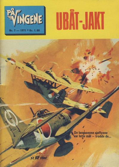 Cover for På Vingene (Serieforlaget / Se-Bladene / Stabenfeldt, 1963 series) #7/1971