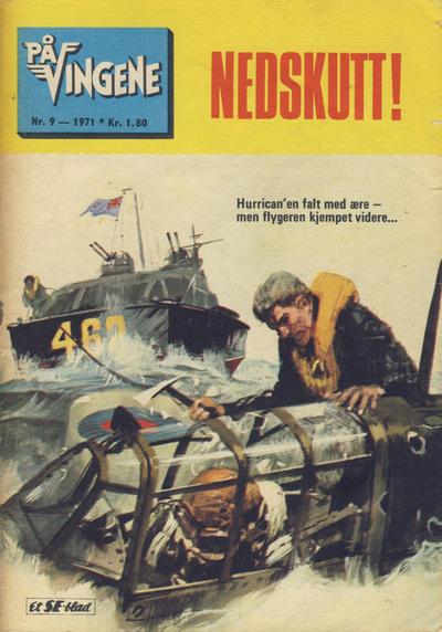 Cover for På Vingene (Serieforlaget / Se-Bladene / Stabenfeldt, 1963 series) #9/1971