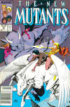 Cover for The New Mutants (Marvel, 1983 series) #56 [Newsstand]