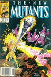 Cover for The New Mutants (Marvel, 1983 series) #54 [Newsstand]