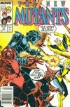 Cover for The New Mutants (Marvel, 1983 series) #53 [Newsstand]