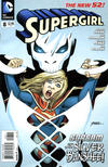 Cover for Supergirl (DC, 2011 series) #8