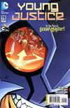 Cover for Young Justice (DC, 2011 series) #15