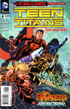 Cover for Teen Titans (DC, 2011 series) #8
