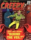 Cover for Creepy Worlds (Alan Class, 1962 series) #4