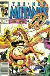 Cover Thumbnail for The New Mutants (1983 series) #77 [Newsstand Edition]