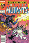 Cover for The New Mutants (Marvel, 1983 series) #71 [Newsstand]