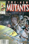 Cover for The New Mutants (Marvel, 1983 series) #63 [Newsstand]
