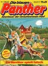 Cover for Die blauen Panther (Bastei Verlag, 1980 series) #3 - Ein Verräter spielt falsch