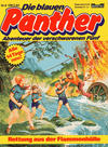 Cover for Die blauen Panther (Bastei Verlag, 1980 series) #6 - Rettung aus der Flammenhölle