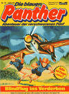 Cover for Die blauen Panther (Bastei Verlag, 1980 series) #10 - Blindflug ins Verderben