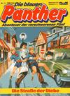 Cover for Die blauen Panther (Bastei Verlag, 1980 series) #11 - Die Straße der Diebe