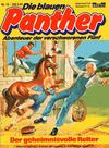 Cover for Die blauen Panther (Bastei Verlag, 1980 series) #12 - Der geheimnisvolle Reiter