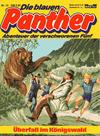 Cover for Die blauen Panther (Bastei Verlag, 1980 series) #13 - Überfall im Königswald