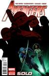Cover for Avengers: Solo (Marvel, 2011 series) #3