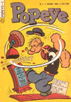 Cover for Popeye (Editora Brasil-América [EBAL], 1953 series) #1