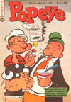 Cover for Popeye (Editora Brasil-América [EBAL], 1953 series) #3