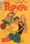 Cover for Popeye (Editora Brasil-América [EBAL], 1953 series) #40