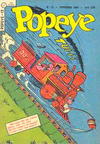 Cover for Popeye (Editora Brasil-América [EBAL], 1953 series) #12