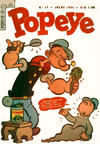 Cover for Popeye (Editora Brasil-América [EBAL], 1953 series) #17