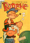 Cover for Popeye (Editora Brasil-América [EBAL], 1953 series) #20