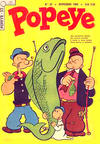 Cover for Popeye (Editora Brasil-América [EBAL], 1953 series) #33