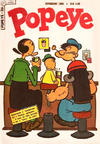 Cover for Popeye (Editora Brasil-América [EBAL], 1953 series) #36