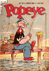 Cover for Popeye (Editora Brasil-América [EBAL], 1953 series) #39