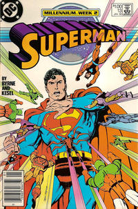 Cover Thumbnail for Superman (DC, 1987 series) #13 [Canadian]
