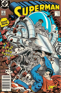 Cover Thumbnail for Superman (DC, 1987 series) #19 [Canadian Newsstand]