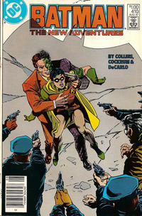 Cover Thumbnail for Batman (DC, 1940 series) #410 [Canadian Newsstand Variant]