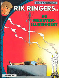 Cover Thumbnail for Rik Ringers (Le Lombard, 1963 series) #52 - De meester-illusionist