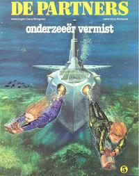 Cover Thumbnail for De Partners (Oberon, 1979 series) #5 - Onderzeeër vermist