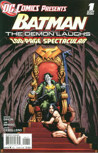 Cover Thumbnail for DC Comics Presents: Batman - The Demon Laughs (DC, 2011 series) #1