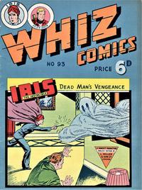 Cover Thumbnail for Whiz Comics (L. Miller & Son, 1950 series) #93