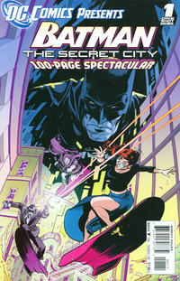 Cover Thumbnail for DC Comics Presents: Batman: The Secret City (DC, 2012 series) #1