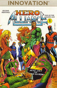 Cover Thumbnail for Hero Alliance: End of the Golden Age (Innovation, 1989 series) #1 [Second Printing]