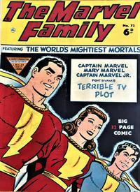 Cover Thumbnail for The Marvel Family (L. Miller & Son, 1950 series) #72
