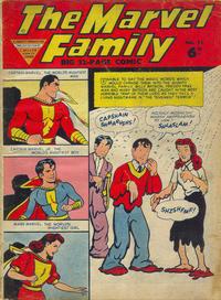 Cover Thumbnail for The Marvel Family (L. Miller & Son, 1950 series) #73