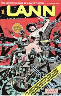 Cover for Lann (Fantagraphics, 1991 ? series) #1