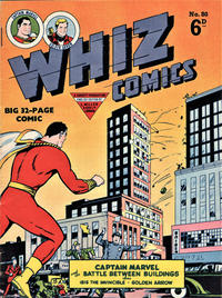 Cover Thumbnail for Whiz Comics (L. Miller & Son, 1950 series) #80