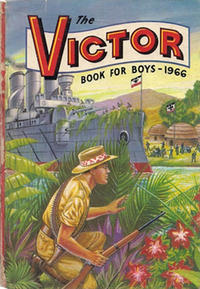 Cover Thumbnail for The Victor Book for Boys (D.C. Thomson, 1965 series) #1966