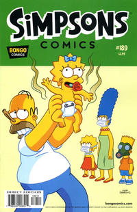 Cover Thumbnail for Simpsons Comics (Bongo, 1993 series) #189