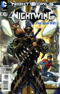 Cover Thumbnail for Nightwing (DC, 2011 series) #8