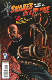 Cover Thumbnail for Snakes on a Plane (DC, 2006 series) #2 [Jerome K. Moore Cover Variant]