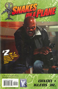 Cover Thumbnail for Snakes on a Plane (DC, 2006 series) #2