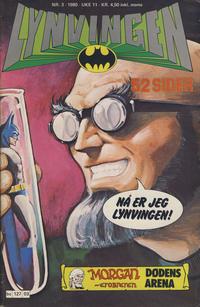Cover Thumbnail for Lynvingen (Semic, 1977 series) #3/1980