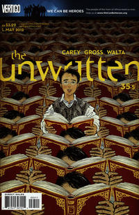 Cover Thumbnail for The Unwritten (DC, 2009 series) #35.5