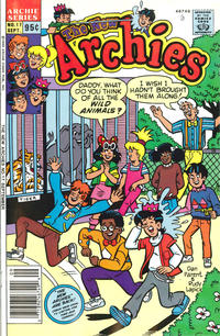 Cover Thumbnail for The New Archies (Archie, 1987 series) #17