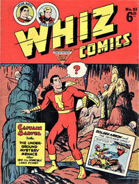 Cover Thumbnail for Whiz Comics (L. Miller & Son, 1950 series) #83